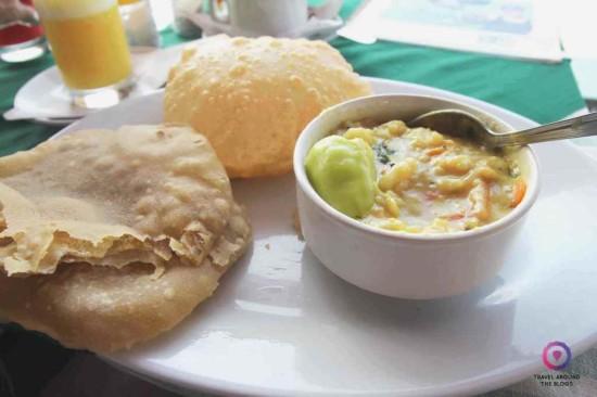 Tradycyjne śniadanie w Kerali.