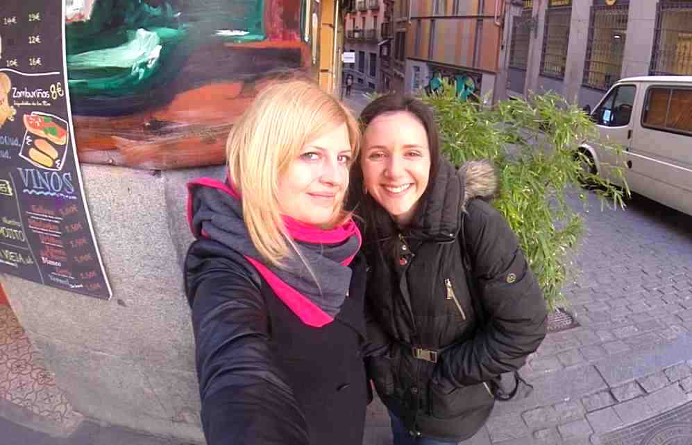 Lauren and me