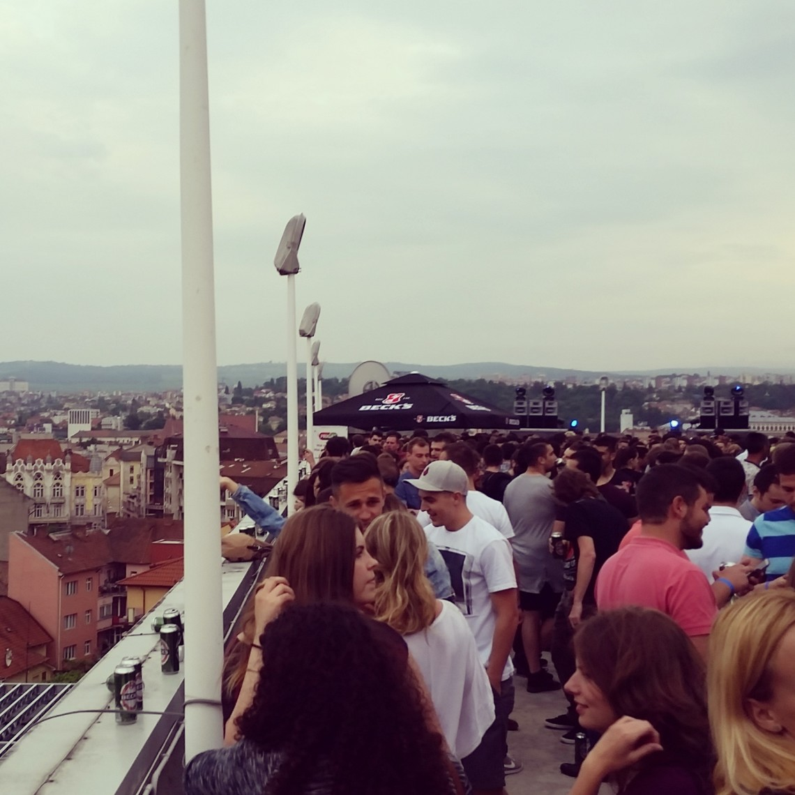Roof party